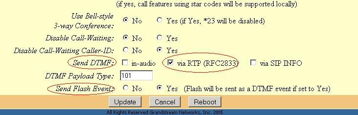 Forum Ultranet Telecom - ATA : Grandstream HandyTone HT-502
